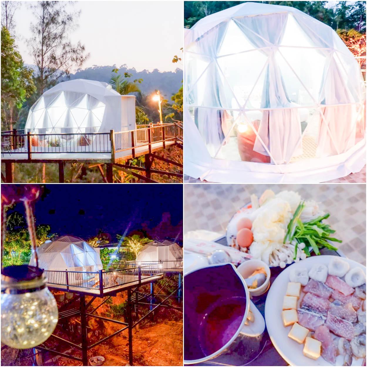 Khaopubpa Glamping Dome เขาพับผ้ารีสอร์ท อากาศ+ที่พัก  10/10 คืนนี้นอนดูดาว พรุ่งนี้เช้าดูหมอก ฟินนนนแน่นอนค่า