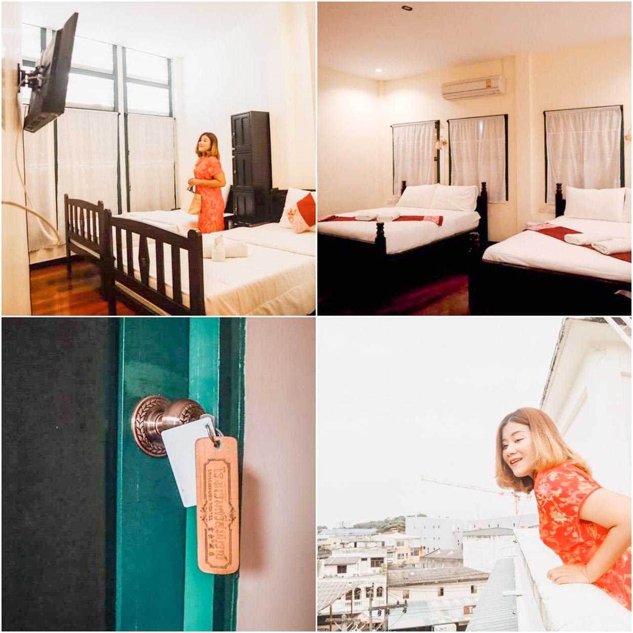 โรงแรมศรีสมบูรณ์/Srisomboon Hostel ที่พักตรังในตัวเมืองใกล้หอนาฬิกาตรังเดินทางง่ายสะดวกสบายต้องห้ามพลาด