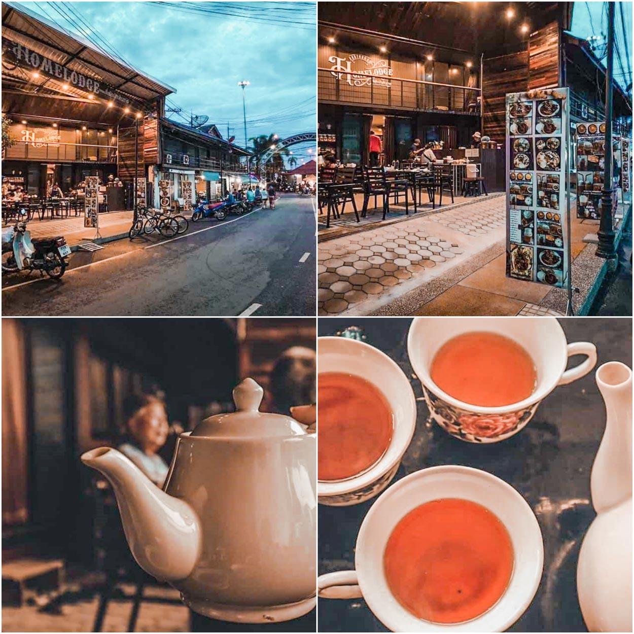 ร้านย่านตาขาวโอลด์ทาวน์แอนด์โฮมลอดจ์ Old Town Cafe? & Yantakhao Homelodge