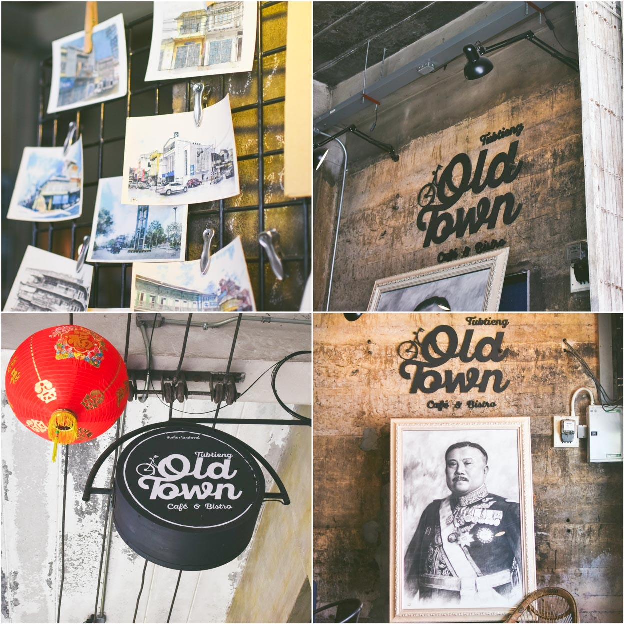 ร้านสไตล์เท่ๆ เก๋ๆไม่เหมือนใคร ร้าน Tubtieng Old Town ไปเช็นอินกันได้รัวๆเลยจ้าาาา