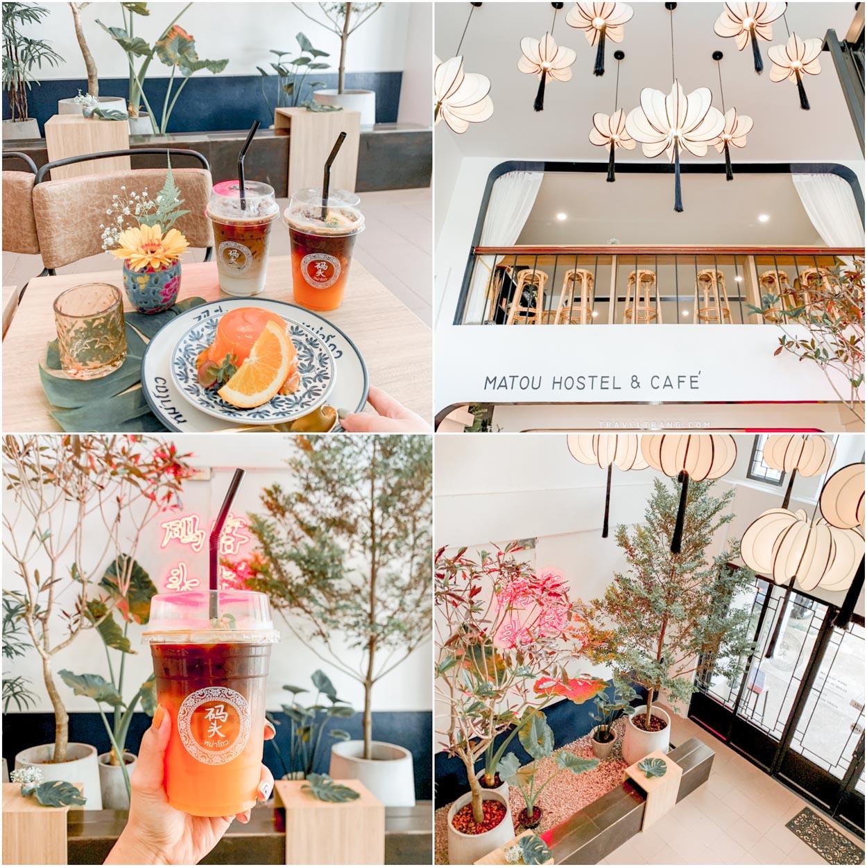 จุดเช็คอินเด็ดๆ สวยไปหมดกับ ร้าน matou hostel & cafe ร้านดีๆมุมสวยๆ ของกินอร่อยต้องร้านนี้เลยจ้าา
